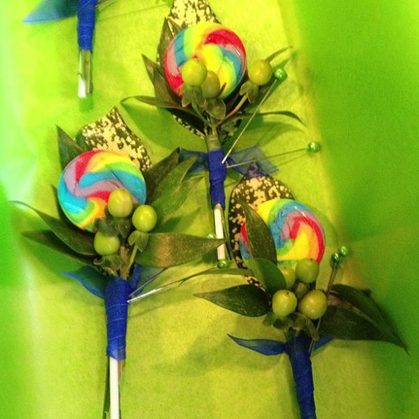 Corsage and Boutonniere - Stemz Florist